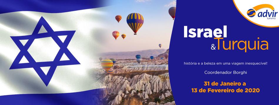 Turquia e Israel – Fevereiro 2020