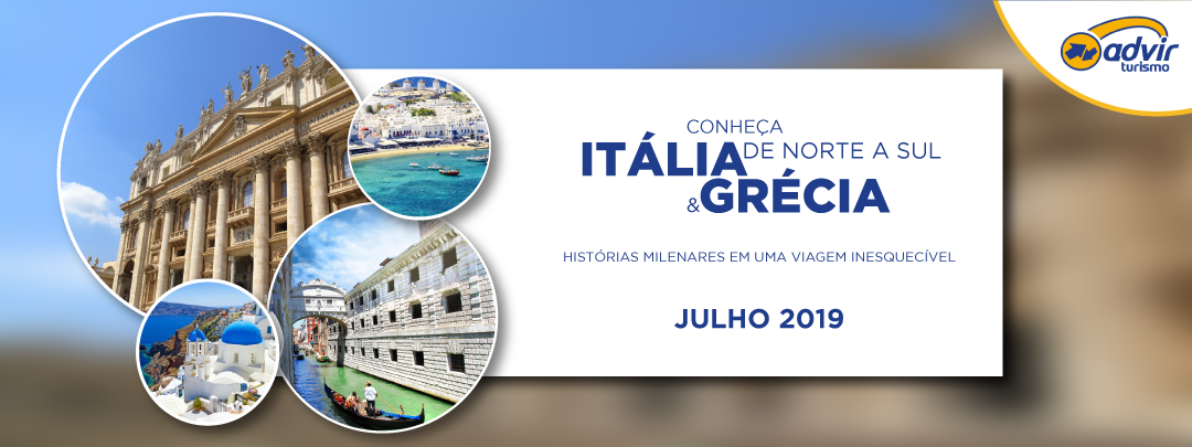 Itália e Grécia – Julho 2019