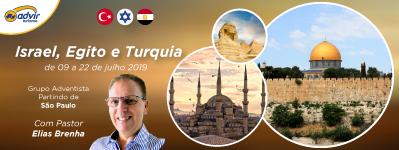 Israel, Egito e Turquia – Julho 2019